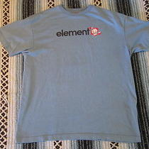 Element Skate  Blue  Tee Mens  Tshirt Size L Photo