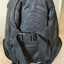 Element Skateboard Backpack W/ Skateboard Straps Black on Black Photo