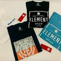 Element Skateboard Boy's T-Shirt Lot of 4 Size Medium Photo