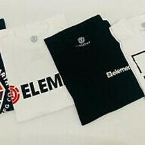 Element Skateboard Boy's T-Shirt Lot of 4 Size Medium (8) Photo