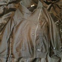 Element Skateboard Jacket Grey Distressed Size M California Usa Sb Fall La Ca A Photo