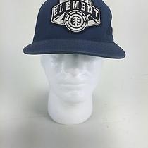 Element Skateboard Starter Blue Snapback Rare Adjustable Mens Hat/cap Euc Photo