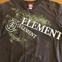 Element Skateboards Brown T- Shirt Medium Photo