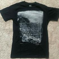 Element Skateboards Graphic Logo Organic Signature T Shirt Black Small Photo