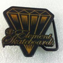 Element Skateboards Men Belt Buckles Rare Unique Vintage Diamond Shape  Photo