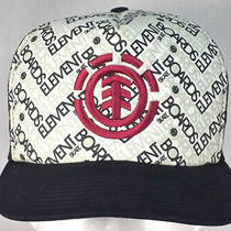 Element Skateboards Trucker Style Snapback Hat Cap Photo