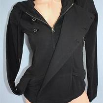 Element Small Black Womens Sweatshirt Jacket Nwt Photo