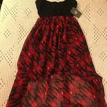 Element Strapless Hi-Low Dress Cute Nwt 59 Size Small Photo