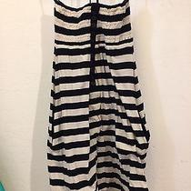 Element Striped Cotton Dress Size M Photo