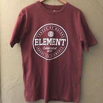 Element T-Shirt 100% Cotton T-Shirt  Men's Med Cool Color Photo