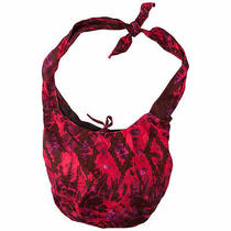 Element Tropical Purse Hobo Handbag Beach Tote Red Tie Dye Boho Hippie Chic Bag Photo