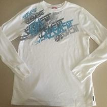 Element White Long Sleeve Graphic Shirt Size Large Photo