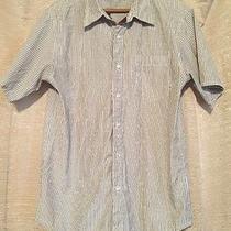 Element White Men's Shirt Dress Button Front Size Large Photo