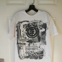 Element White T-Shirt  Size M Photo