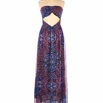 Element Women Blue Casual Dress L Photo