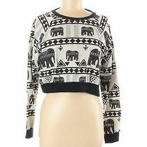 Element Women Ivory Sweatshirt M Photo