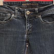 Element Women's Denim Straight Leg Jeans Size 1 Measures 26 X 30 Photo