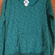 Element Women's Emerald Green Pullover Sweatshirt Size Medium Photo