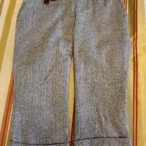 Element   Womens Cropped Capri Pants Trousers Wool Tweed  Sz 7  Excellent Photo