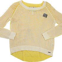 Element Womens Nina  Sweater Yellow M Nwt Photo