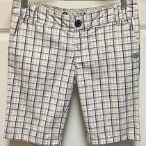 Element Wood & Thread Plaid Shorts Size 5 Photo