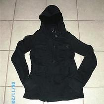 Element Wood & Thread Womens Black Hoodie. Size Medium. Photo