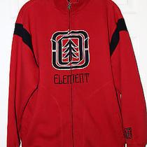 Element Zipper Front Sweatshirt Jacket Men's Large Photo
