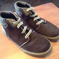 Elements Boots  by Nina  Boys Sz 2 Brown Suede Slip on Boot Photo