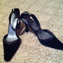 Elements by Nina Black Dress Heels Size 8.5 Photo