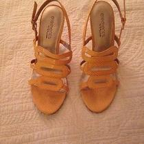 Elements by Nina High Heeled Yellow Women's Shoes Photo