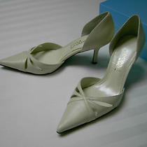 Elements by Nina Size 8 Cream Leather Stunning Pumps 3