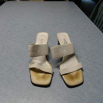Elements by Nina White High Heel Sandal Size 8.5 Photo