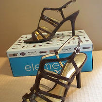 Elements by Nina Womens Shoes Sz. 9 Sandals Brown Photo