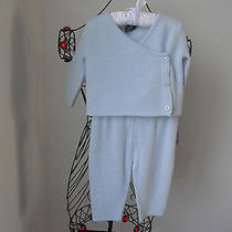 Elie Tahari 100% Cashmere Baby Boys Girls Kids  2 Pieces Outfit  Sz 3- 6 M  Photo