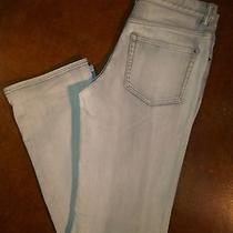 Elie Tahari  30  Raleigh Jean Grey Modern Fit Straight Jeans Photo