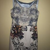 Elie Tahari Beautiful Pattern Dress Size 8 Photo