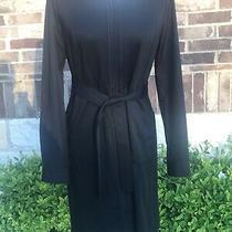 Elie Tahari Black Dress With Belt Originally 299 Photo