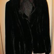 Elie Tahari Black Velvet Jacket - New Without Tags Photo
