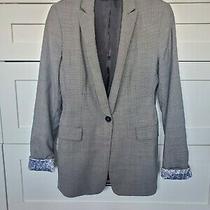 Elie Tahari  Blazer / Jacket Size 4 Mini Check Vintage  Photo