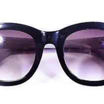 Elie Tahari Classic Retro Sunglasses Black Photo