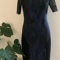 Elie Tahari  Mesh Dress Size 10 29 Photo