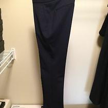 Elie Tahari Navy Yard Jenny Suit Pants 95% Wool / 5% Elastane Size 0 Photo