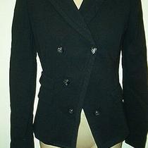 Elie Tahari Nwt 448  Marisa Jacket  Black  Size 0          Free Shipping Photo