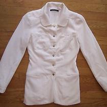 Elie Tahari Off-White Jacket Size Xs Photo