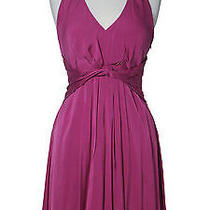 Elie Tahari Purple Dress Photo