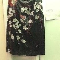 Elie Tahari Sequin Skirt Photo