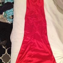 Elie Tahari Sz 4 Red Dress Photo