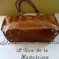 Elie Tahari Tote Antiqued Leather Photo
