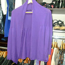 Elie Tahari Violet Cardigan Size S Photo