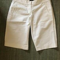 Elie Tahari White Shorts Size 8 Photo